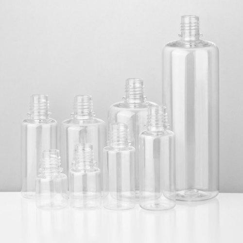 50ml PET squeeze bottles  Clear Plastic eLiquid Bottle with dropper tip crc Cap