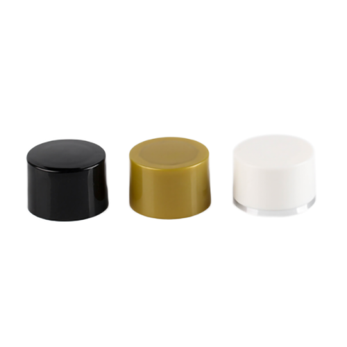 Colored PP plastic double-wall bottle screw cap with 20-410 neck finish