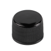 PP plastic black screw cap with 24-420 neck finish for regular replacement