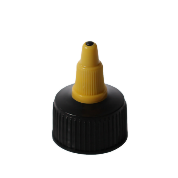 Colored PP twist cap with 24/410 neck finish