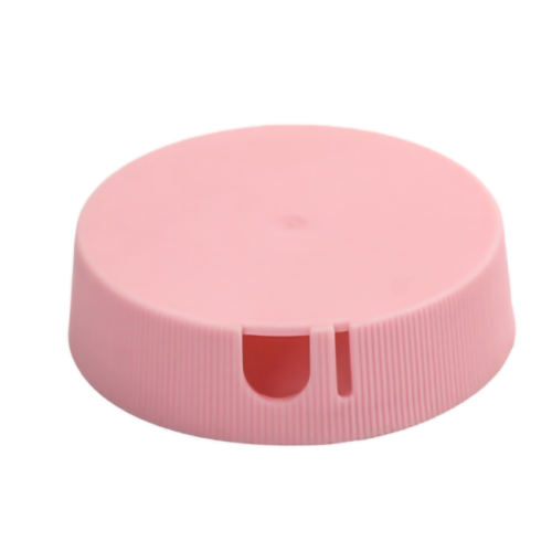 Pink PP salt caps with dimension  is 5cm w/500g&750g salt bottle