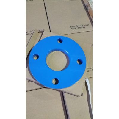 Powder Coat Flange, Custom Manufacturing Process, 2