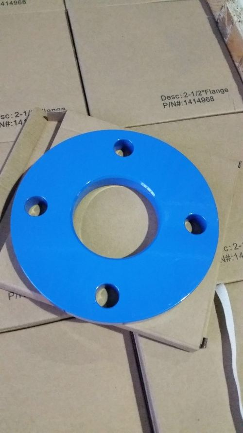 Powder Coat Flange, Custom Manufacturing Process, 2