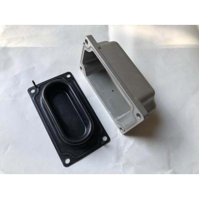 Custom Die Casting Parts, High Quality Aluminum Die Casting Manufacturer, Assembling With Rubber Seal