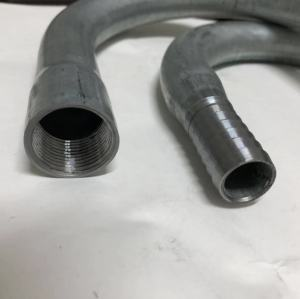 U Pipe Part, Gooseneck Part, Galvanized Steel Gooseneck Part, Custom Made For Irrigation In USA