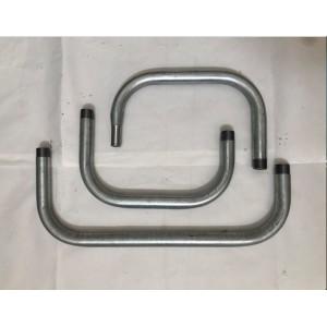 U Pipe Parts, Gooseneck Parts, Galvanized Steel Gooseneck Part, OEM Made For Irrigation Pivot