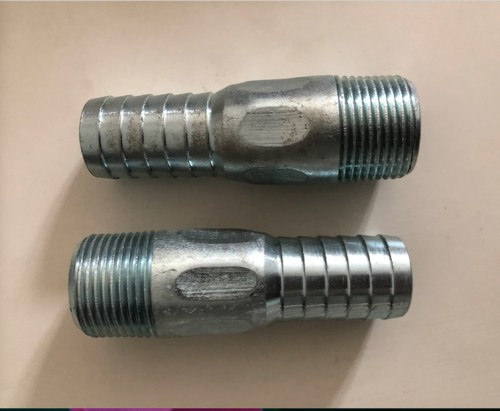 Irrigation Nipple Parts, Custom Manufacturer, Stamping Round/ Hex Body, Connecting With Plastic Tube, Irrigation Pivot Parts