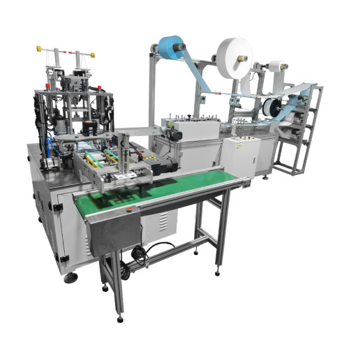 High speed 1 1  flat mask machine