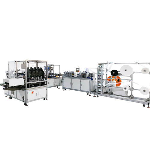 Automatic one-for-one fish noodle machine with automatic four-channel packaging machine