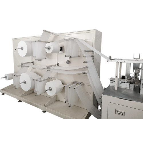 Fully automatic high-speed KN95 mask machine 90-100 pieces per minute