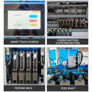 Multifunction Servo KF94 fish mask packing machine