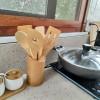 Reusable and Natural Bamboo Spatula