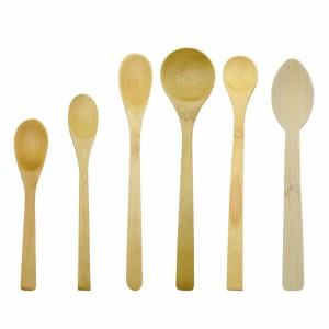 可重复使用的天然竹勺|环保竹餐具供应商|批发厨房用竹制餐具