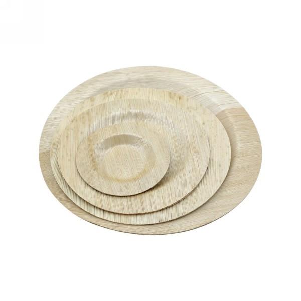 Leichte und wegwerfbare Bambusblattplatte