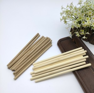 Disposable And Trendy Bamboo Straw