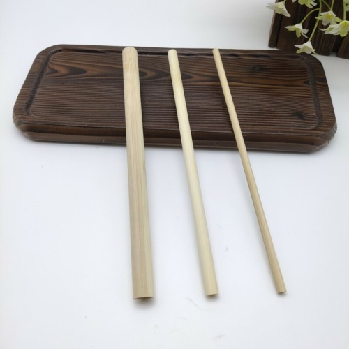 使い捨てでトレンディな竹ストロー