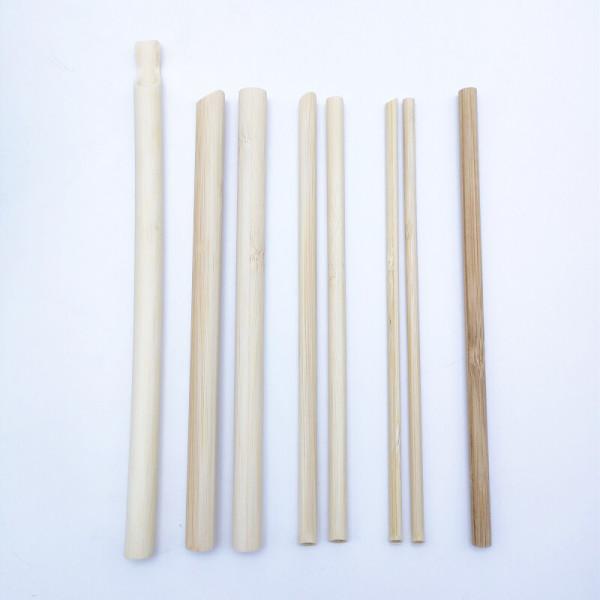 Einweg- und trendiges Bambusstroh