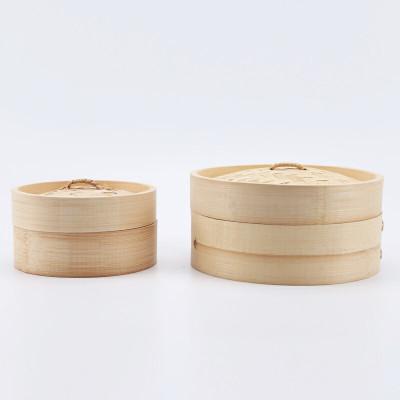 Cuiseur à vapeur en bambou naturel et écologique