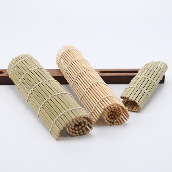 Eco-friendly and Disposable Bamboo Sushi Mats | bamboo sushi rolling mat | Bamboo utensil