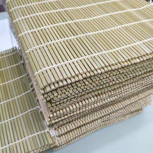 Tapis de sushi en bambou écologiques et jetables
