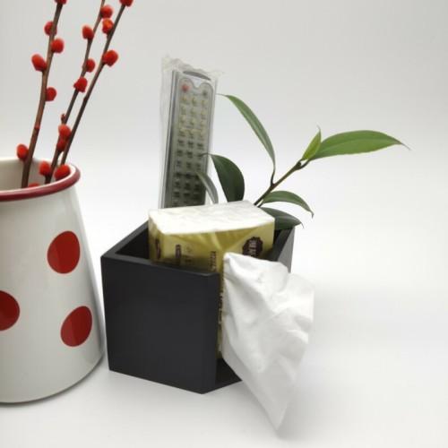 Praktische und moderne Bambusbox für Gewebe