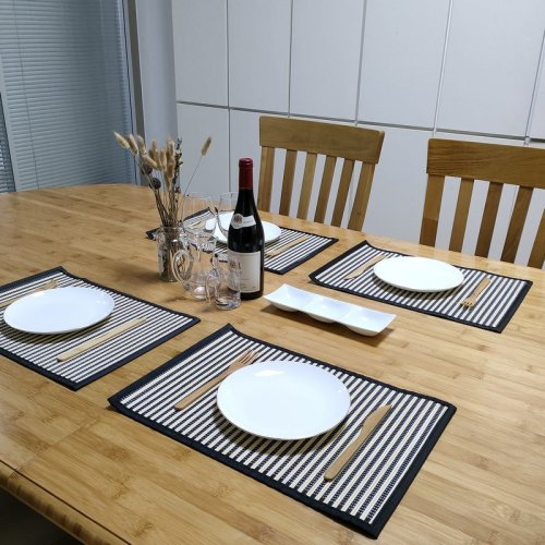 Natural and Elegant Bamboo Placemats | Bamboo Tableware  customized wholesale