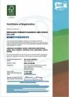 FSC Certificate of Registration