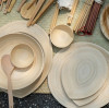 Take you into the bamboo tableware!
