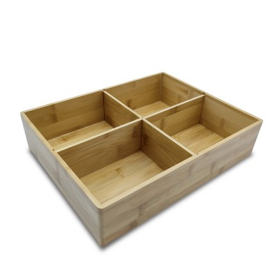 Multifunctional Bamboo Box (Set)|Foldable and Collapsible Storage Box|Eco-Friendly|Engravable,Customizable|Wholesale|Diect-Sale
