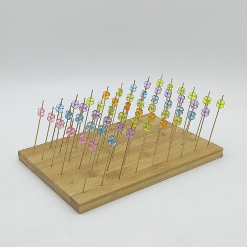 Diposable Bamboo Sticks|Fruit Stick|Desert,Cake Stick|Wholesale|Direct-Sale|Eco-Friendly|Restaurantware|Tableware