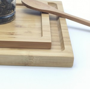 Bamboo Serving Tray| Suitable For Various Occasions And Uses|Customizable Tea Trays Combo|Barbecue(BBQ) Tray|General Serving Tray|Direct-sale|Wholesales|Customizable Text,Logo|Guaranteed Natural|Materials|100% Eco-friendly