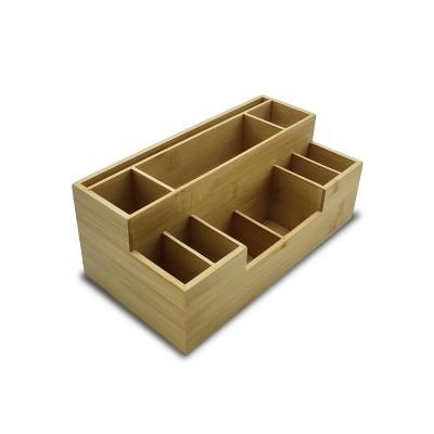 Multifunctional Bamboo Box |Creative Storage Box|Eco-Friendly|Engravable,Customizable|Wholesale|  Diect-Sale
