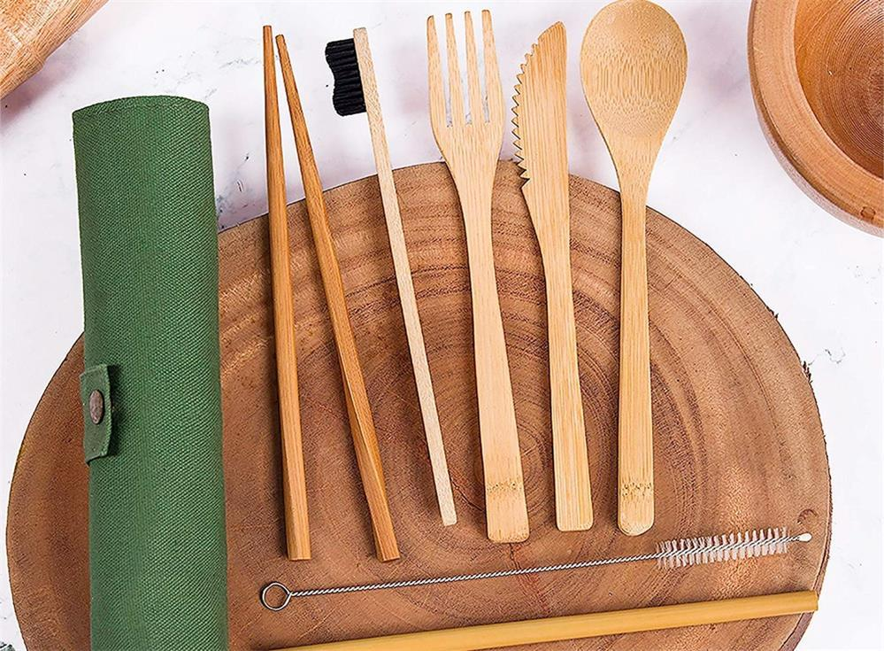 the specific method of recycling bamboo tableware