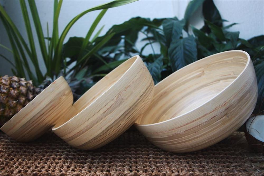 the specific manufacturing process of bamboo bowls