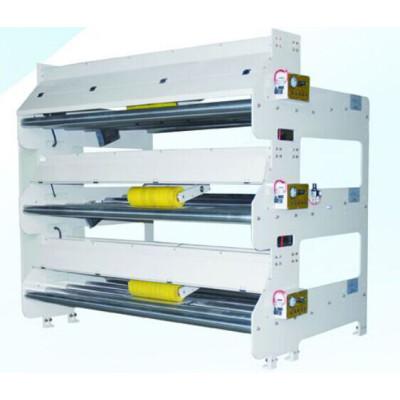 Bridge tension correction machine for corrugated box making line