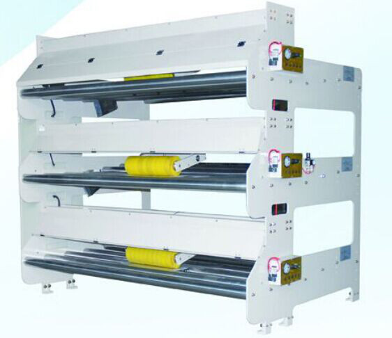 Bridge tension correction machine for corrugated box making line