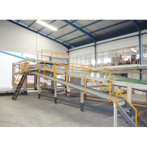 DMC Automatic Stacker Paper Board High Speed Basket Down Stacker