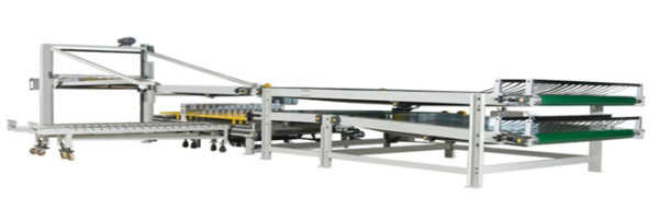 Automatic Paper Sheet Delivery & Side Corrugated Paper Conveyor Stacker