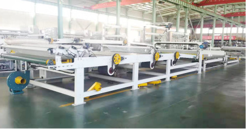 China Fully Automatic 5 ply corrugated board production line