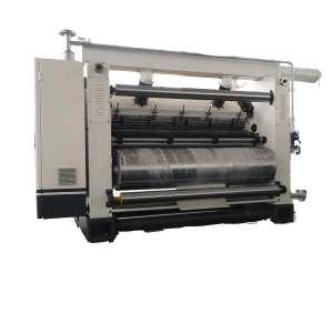 Italic Fingerless Type corrugated single facer China Fingerless Corrugation Machine