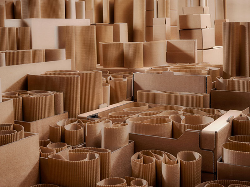 Overview of  Corrugated Cardboard Production Process
