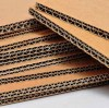 What is the difference between cardboard and corrugated cardboard?