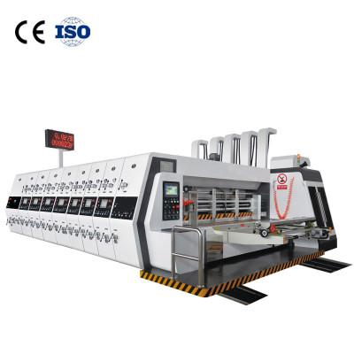 Automatic Flexo Printing Slotting Die-cutting Machine for Corrugated Carton Box Making