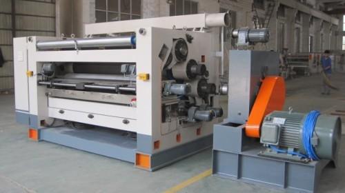 Square single side corrugating machine  High speed 320 360 single facer corrugated cardboa