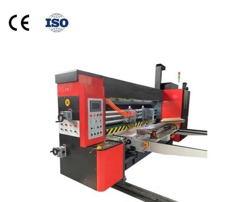 Huazu 1200*2800 high speed cardboard flexo die-cutting printer is suitable for carton printing   Automatic box flexo corrugated box printing machin