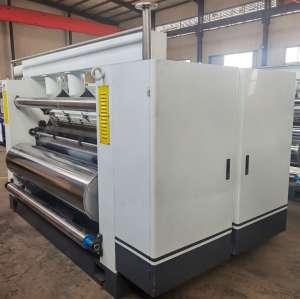 Italic Fingerless Type corrugated single facer China Fingerless Corrugation Machine  Carton box making machine