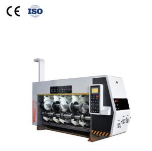 Hua Yu automatic printing flexo printing machine slotting die cutting machine 1224 corrugated carton making machine