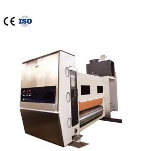 Model 1424 is used for die-cutting of carton printing machine Flexo printer slotting machine Automatic slotting die cutting machine for printer