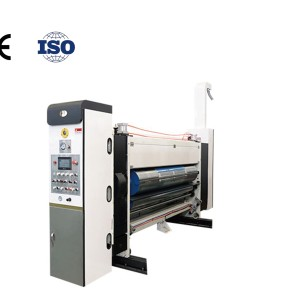 Hengchuangli automatic printing machine series model 1228 for carton printing die - cutting Fully Automatic Carton and Pizza Box Printing Mach