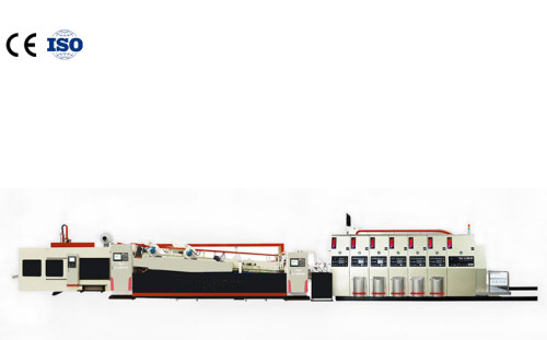 Constant earningsCorrugated paper carton flexible glue machine1224Used for carton printing die cutting molding  Carton flexo printing machine